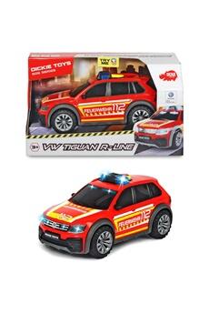 Véhicules miniatures Dickie Dickie 203714016 - voiture de pompiers vw tiguan r-line