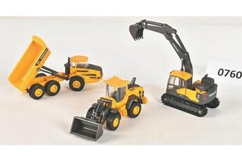 Figurines animaux New Ray Coffret 3 vehicules mini volvo