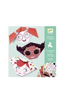 Figurines personnages Djeco Djeco dj08757 - initiation à l'origami frimousses