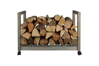 Outil pour couper et débiter le bois GENERIQUE Icaverne - sacs et paniers à bûches joli support de stockage du bois de chauffage sur roues