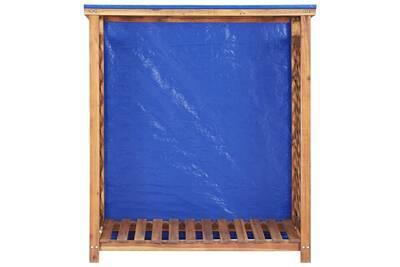 Outil pour couper et débiter le bois GENERIQUE Icaverne - sacs et paniers à bûches sublime remise à bois de chauffage 105x38x118 cm bois d'acacia solide
