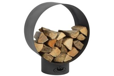 Outil pour couper et débiter le bois GENERIQUE Icaverne - sacs et paniers à bûches moderne support de stockage du bois de chauffage rond ff282