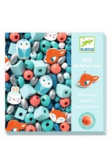 Figurines personnages Djeco Djeco dj09807 - perles en bois petits animaux