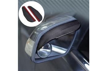 Accessoires de déguisement GENERIQUE Universal car rear view side mirror rain board pare-soleil shades shield guard noir