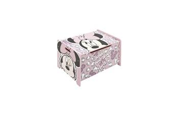 Coffre à jouets Alpexe Disney minnie - coffre de rangement en bois