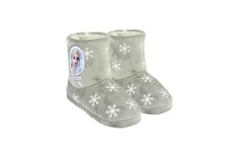 Accessoires de déguisement Alpexe La reine des neiges 2 botte chausson fourr?e gris/blanc enfant fille - taille 30