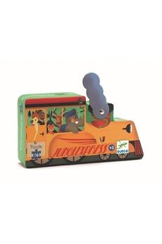 Figurines personnages Djeco Djeco dj07267 - puzzle la locomotive, 16 pièces