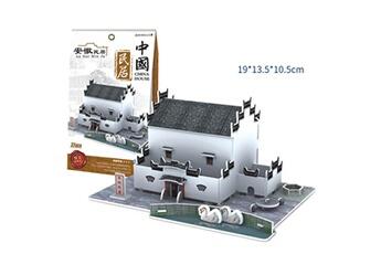Puzzles AUCUNE Puzzle de jouet 3d bricolage maison villa enfants garçons filles papier éducative m
