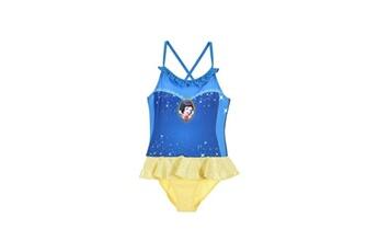 Accessoires déguisement Alpexe Princesse maillot de bain 1 piece fille 85% polyester 15% elasthanne jaune - taille 3 ans