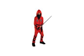 Déguisements Alpexe Amscan - déguisement ninja - haut, pantalon, sash, masque et gants - taille 4/6 ans