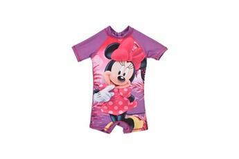 Accessoires déguisement Alpexe Minnie combinaison de bain fille 88% polyester 12% elasthanne violet - taille 2 ans