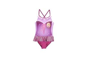 Accessoires déguisement Alpexe Princesse maillot de bain 1 piece fille 85% polyester 15% elasthanne violet - taille 3 ans