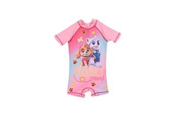 Accessoires déguisement Alpexe Paw patrol combinaison de bain fille 88% polyester 12% elasthanne rose - taille 4 ans