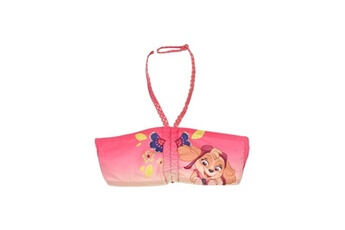 Accessoires déguisement Alpexe Paw patrol maillot de bain 2 pieces fille 85% polyester 15% elasthanne rose - taille 3 ans