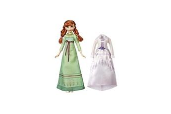 Poupées Alpexe Disney la reine des neiges 2 - poupee mannequin avec 2 tenues nuit et jour - anna - 27 cm