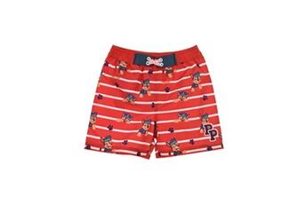 Accessoires déguisement Alpexe Paw patrol short de bain garçon 100% polyester rouge - taille 4 ans