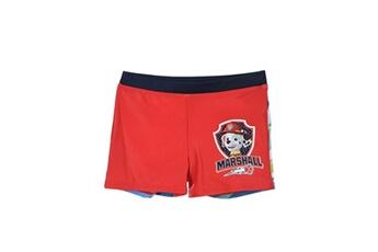 Accessoires déguisement Alpexe Paw patrol maillot de bain boxer garçon 85% polyester/15 % elasthanne rouge - taille 3 ans