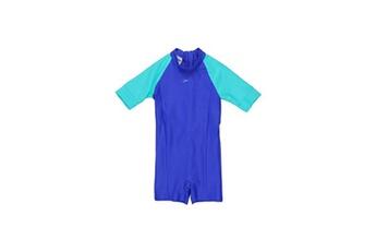 Accessoires déguisement Alpexe Speedo maillot de bain essential all in one suit - enfant - bleu - taille 2 ans