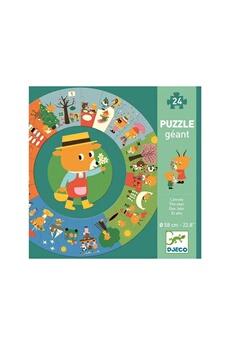 Figurines personnages Djeco Djeco dj07016 - puzzle géant l'année