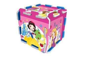 Spirale d'activité Marque Generique Table activite - jouet d'activite disney princesses tapis puzzle mousse 9 pieces avec sacoche