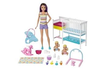 Poupées Marque Generique Poupee barbie - barbie coffret skipper la chambre des jumeaux - 3 ans et +