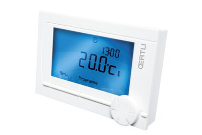 Accessoires chauffage central Oertli Ad 306 - thermostat d'ambiance modulant opentherm rs200 ot filaire