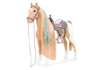 Poupées BUKI Our generation - cheval beige et blanc pour poupée - multicolore