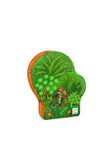Figurines personnages Djeco Djeco dj07244 - puzzles silhouettes - dans la jungle - 54 pièces