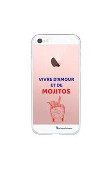 Coque iPhone 11 Pro 360 intégrale transparente Mojito et Sable chaud Ecriture Tendance Design La Coque Francaise