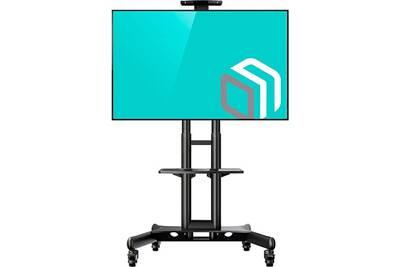 Meuble Tv Onkron Onkron Ts1552 Support Tv Sur Pied A Roulettes Pour Des Televiseurs De 32 A 65 Pouces Darty