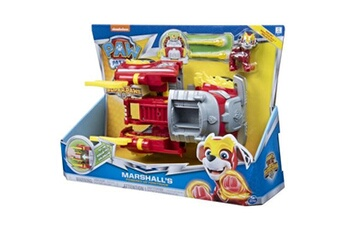 Figurines personnages Paw Patrol V?hicule pat patrouille transformable super charged pups mighty