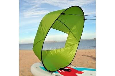 Bouee Brassiere Aucune Pliable Windwind Wind Paddle Popup Board Pour Les Accessoires De Voile De Canoe Kayak Vert Darty