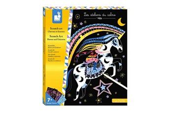 Peinture et dessin Juratoys-janod Scratch art - chevaux et licornes