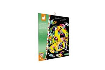 Peinture et dessin Juratoys-janod Scratch art - animaux du monde