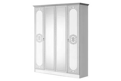 Armoire Altobuy Solaya Armoire 4 Portes Avec Miroir Central Darty