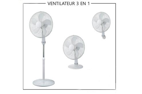 Ventilateur 3 en 1
