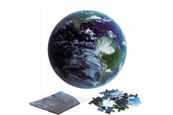 Jouets éducatifs Generic Puzzles pour adultes 1000 pièces terre grand jeu de puzzle jouet éducatif 26,7 x 26,7 pouces bt959