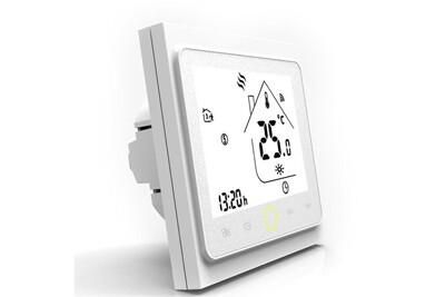 Accessoires chauffage central Beca Thermostat connecté bht-002 compatible alexa et google home couleur blanc - beca