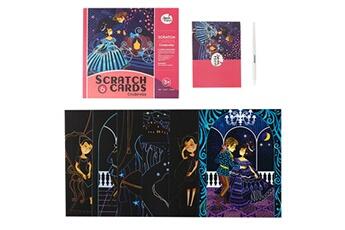 Jouets éducatifs AUCUNE Rainbow scratch it art - images magiques de cartes à gratter arc-en-ciel pour enfants zyg200409310