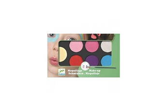Mode et stylisme Djeco Maquillage palette 6 couleurs sweet