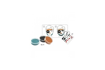 Mode et stylisme Djeco Coffret maquillage pirate