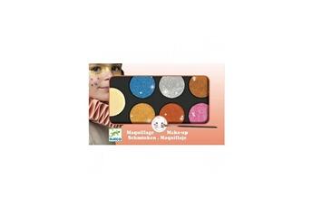 Mode et stylisme Djeco Maquillage palette 6 couleurs effet metal