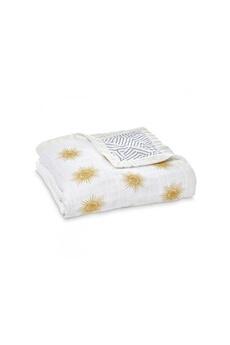 Linge de lit bébé Aden And Anais Aden and anais - aden + anais couverture de rêve - silky soft dream blanket golden sun