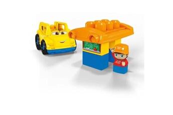 Véhicules miniatures Marque Generique Vehicule a construire - engin terrestre a construire first builders lil'véhicule le bus scolaire - 5 blocs - 12 mois et +