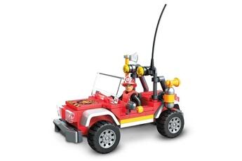 Véhicules miniatures Marque Generique Vehicule a construire - engin terrestre a construire véhicule de secours - 114 pieces