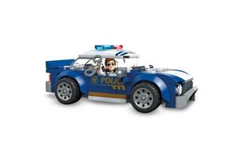 Véhicules miniatures Marque Generique Vehicule a construire - engin terrestre a construire véhicule de police - 113 pieces