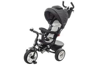 Vélos enfant Hypermotion Hypermotion poussette tobi spiner tricycle évolutif pour enfant 1 à 5ans/design soigné, roues gonflées, repose pieds, poussoir réglable, couleur noire