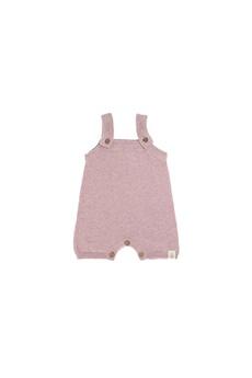 Sortie de Bain bébé Lassig Lassig - combinaison tricoté courte gots garden explorer
