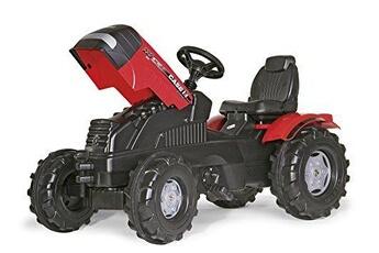 Véhicule à pédales ROLLYTOYS Rolly toys - 60 105 9 - tracteur à pédales - rollyfarmtrac case puma