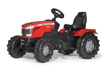 Véhicule à pédales ROLLYTOYS Rolly toys - 60 115 8 - tracteur à pédales - rollyfarmtrac massey ferguson 8650